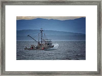 Western Sunrise Framed Print by Randy Hall