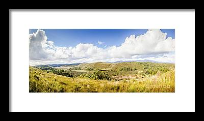 Panorama Australia Framed Prints