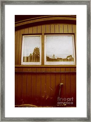 Western Train Wagon Framed Print by Jorgo Photography - Wall Art Gallery