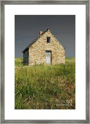 Western View Framed Print