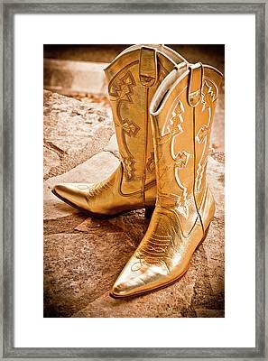 Western Wear Framed Print by Jill Smith