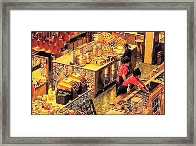 Framed Print featuring the photograph Westfield Golden Glow by Jack Torcello