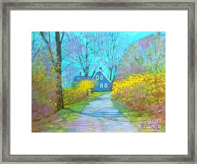 Westhaver Road  Framed Print