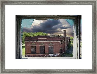 Westinghouse In A Storm Framed Print