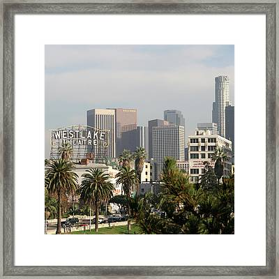 Westlake, Los Angeles Framed Print