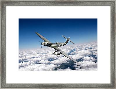 Framed Print featuring the photograph Westland Whirlwind Portrait by Gary Eason