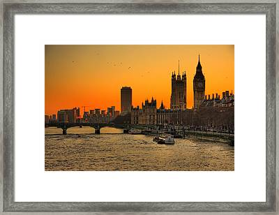 Westminster & Big Ben London Framed Print