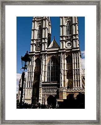 Westminster Abbey Framed Print by Ira Shander