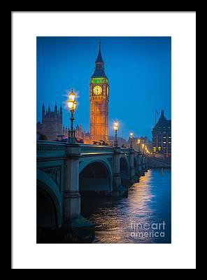 London Tower Bridge Framed Prints