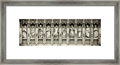 Framed Print featuring the photograph Westminster Martyrs Memorial - 1 by Stephen Stookey