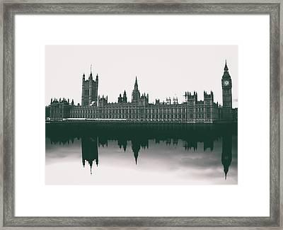 Westminster Reflection Framed Print