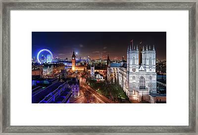 Westminster Framed Print