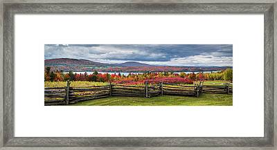 Westmore Overlook Framed Print by Tim Kirchoff
