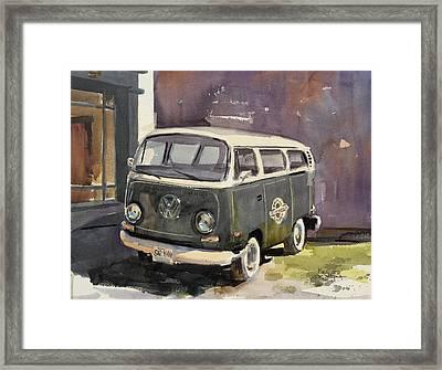 Weston White Walls Framed Print