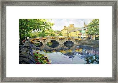 Westport Bridge County Mayo Framed Print by Conor McGuire
