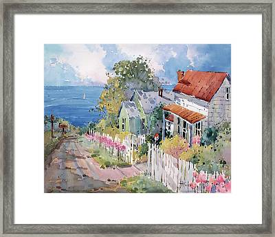 Westport By The Sea Framed Print