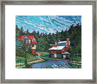 Westport Cove Framed Print