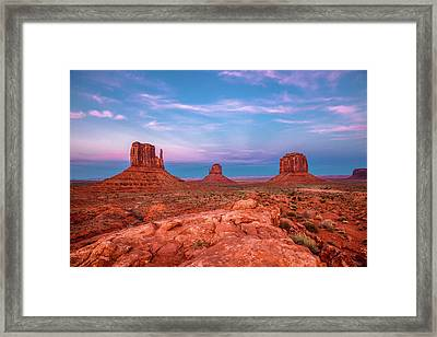 Westward Dreams Framed Print by Sean Ramsey