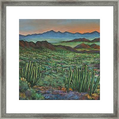 Westward Framed Print by Johnathan Harris