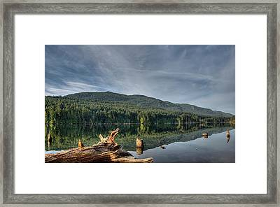 Framed Print featuring the photograph Westwood Lake by Randy Hall