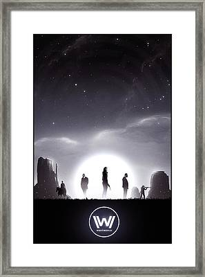 Westworld Framed Print by Colin Morella