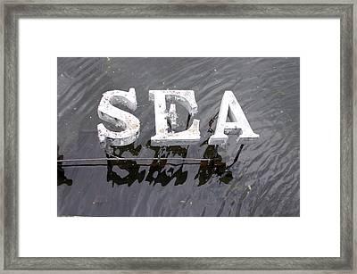 wet Framed Print by Jez C Self