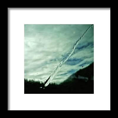 Abstract Landscape Framed Prints