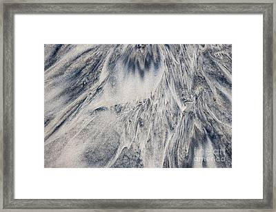 Wet Sand Abstract IIi Framed Print by Elena Elisseeva