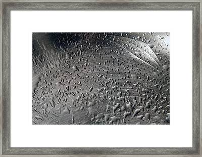 Wet Steel Framed Print by Keith Armstrong