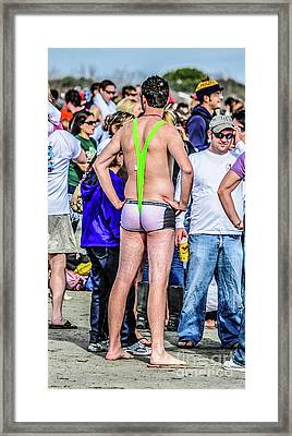 Wet Willy Framed Print by Yvette Wilson