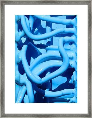 Wet Wires Framed Print