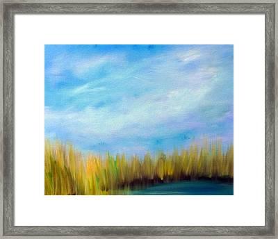 Wetlands Morning Framed Print