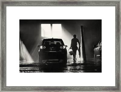 Wet,wet Wet Framed Print