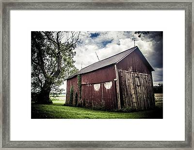 We've Been Here Awhile  Framed Print by Off The Beaten Path Photography - Andrew Alexander