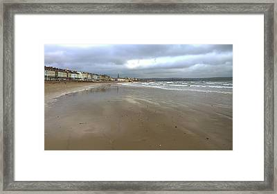 Weymouth Morning Framed Print by Anne Kotan