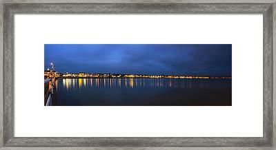 Weymouth Panarama Framed Print by David French