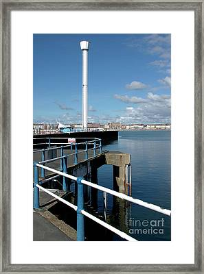 Weymouth Pavillion Pier And Tower Framed Print by Baggieoldboy