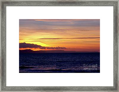 Weymouth To Purbeck Framed Print