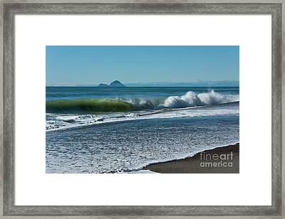 Framed Print featuring the photograph Whale Island by Werner Padarin