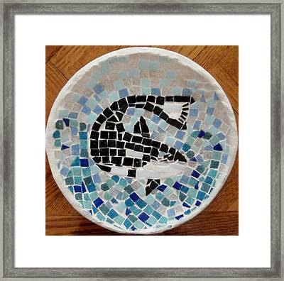 Whale Framed Print by Jamie Frier