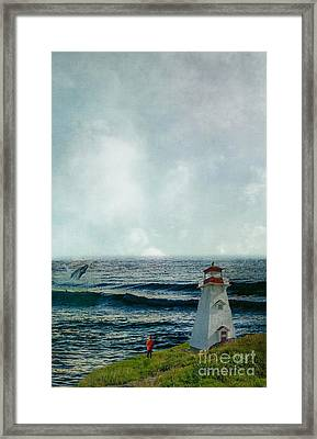 Whale Watch Framed Print