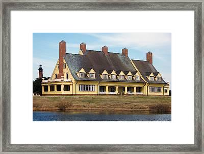 Whalehead Club Framed Print by Kelvin Booker