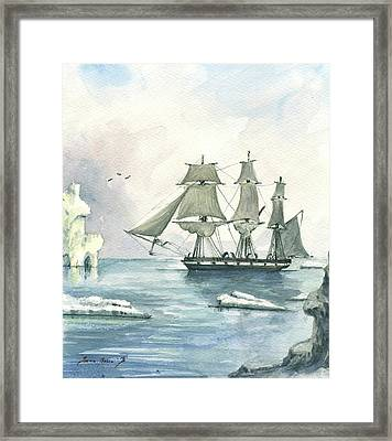 Whaler Framed Print