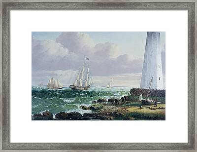 Whalers Coming Home Framed Print