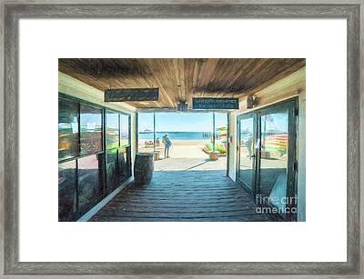 Whaler's Wharf Framed Print