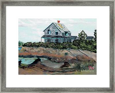 Whales Of August House Framed Print