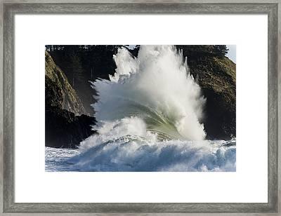 Wham Framed Print