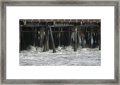 Wharf 2 Framed Print by Karen Sydney