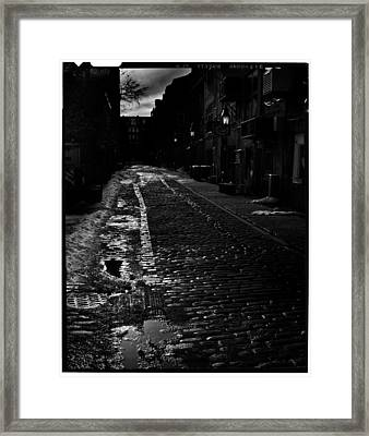 Wharf Street Framed Print by Filipe N Marques