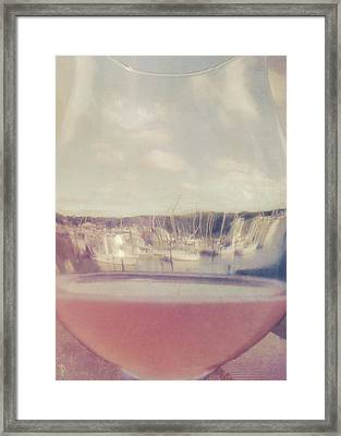 Wharfed Perspective Framed Print by JAMART Photography
